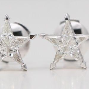18K Kite Diamond Star S 0.45 Ct C19000278